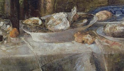 Still Life with Oysters - 1882
